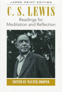 Readings for Meditation and Reflection Book