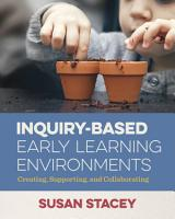 Inquiry Based Early Learning Environments PDF