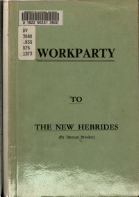 Workparty to the New Hebrides