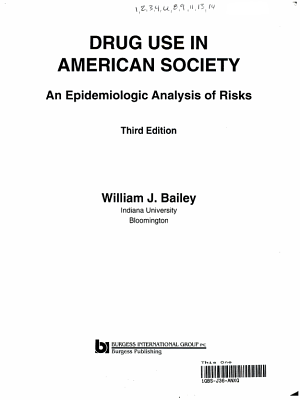 Drug Use in American Society PDF