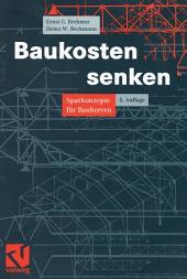 Baukosten senken: Sparkonzepte für Bauherren, Ausgabe 5