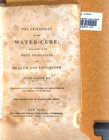 The Philosophy of the Water cure PDF