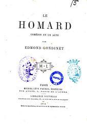 Le homard comédie en un acte par Edmond Gondinet
