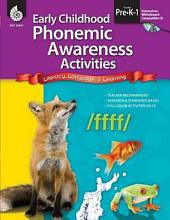 Early Childhood Phonemic Awareness Activities