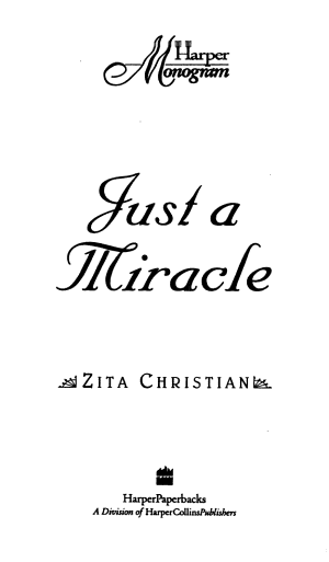 Just a Miracle
