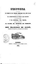 Memoria que comprende el resumen de los trabajos verificados en el año de 1850 por las diferentes secciones de la Comision encargada de formar el mapa geológico de la provincia de Madrid y el general del reino : presentada el 4 de febrero de 1851 ...