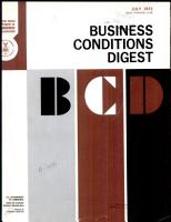 Business Conditions Digest PDF
