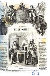 Oeuvres illustrees d'Eugene Sue: Le marquis de Letoriere