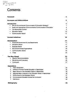 Environmental Communication   Education PDF