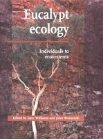 Eucalypt Ecology PDF