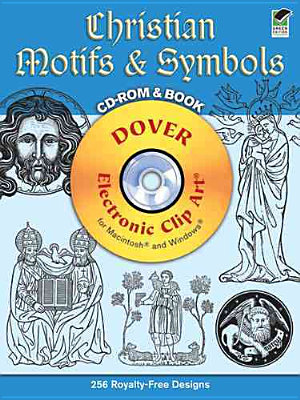 Christian Motifs and Symbols CD ROM and Book