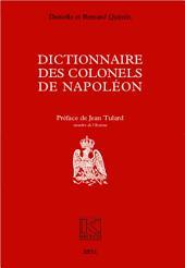 Dictionnaire des colonels de Napoléon: Kronos N° 22