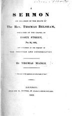 A sermon  on Heb  xi  4  on occasion of the death of the Rev  T  Belsham  etc PDF