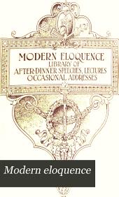 Modern eloquence: Volume 3