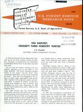 1965 harvest, Crossett farm forestry forties