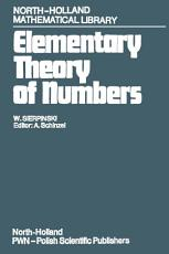 Elementary Theory of Numbers PDF