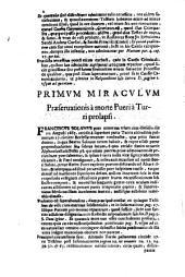 Sac. Rituum Congregatione siue eminentissimo, & reuerendissimo d.cardinali Chisio Limana canonizationis B.Francisci Solani Ordinis Minorum S.Francisci de obseruantia. Positio super dubio ..