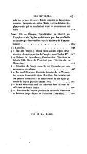 HISTOIRE D'ALLEMAGNE