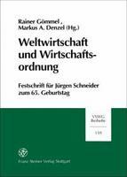 Weltwirtschaft und Wirtschaftsordnung PDF