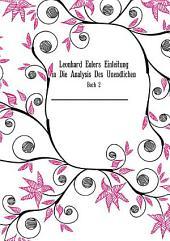 Leonhard Eulers Einleitung in Die Analysis Des Unendlichen