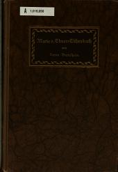 Marie von Ebner-Eschenbach: biographische Blätter