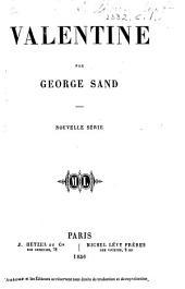 Valentine ... Nouvelle édition