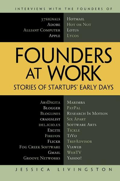 Download Founders at Work Book