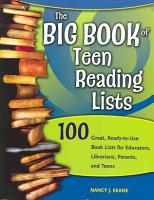 The Big Book of Teen Reading Lists PDF