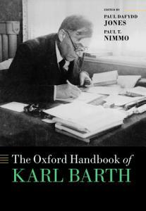 The Oxford Handbook of Karl Barth PDF