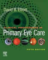 Clinical Procedures in Primary Eye Care E Book PDF