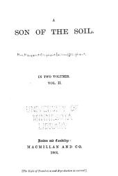 A Son of the Soil: Volume 2