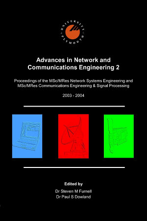 Advances in Network and Communications Engineering 2 PDF
