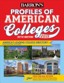 Profiles of American Colleges 2019 PDF
