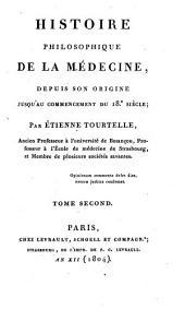 Histoire Philosophique de la Medecine