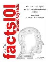 Essentials of Fire Fighting and Fire Department Operations: Edition 5