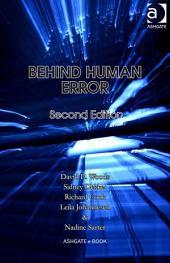 Behind Human Error: Edition 2