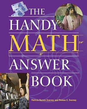 The Handy Math Answer Book PDF