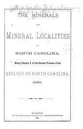 Geology of North Carolina: chap. 2. Ores of North Carolina, by W.C. Kerr and George B. Hanna