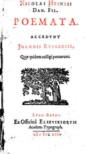 Nicolai Heinsii Dan. Fil. Poemata