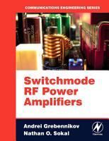 Switchmode RF Power Amplifiers PDF