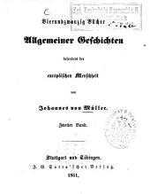 Vierundzwanzig Bücher allgemeiner Geschichten, besonders der Europäischen Menschheit: Band 2