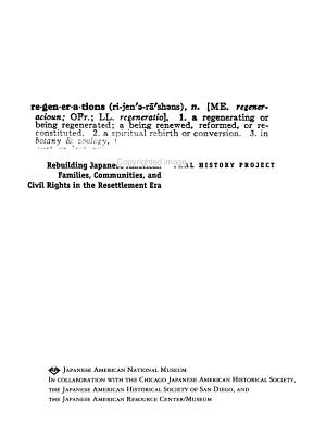 REgenerations PDF