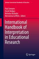 International Handbook of Interpretation in Educational Research PDF