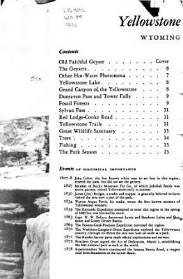 Rules and Regulations  Yellowstone National Park PDF
