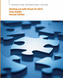 Starting Out with Visual C  2010 PDF