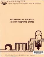 Mechanisms of Biological Luxury Phosphate Uptake