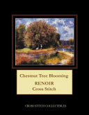 Chestnut Tree Blooming: Renoir Cross Stitch Pattern