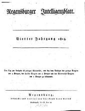 Regensburger Intelligenzblatt: Band 4