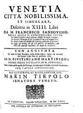 Venetia: Con aggiunta ... del G. Martinioni