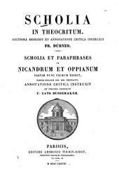 Scholia in Theocritum
